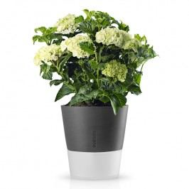 Eva Solo Samozavlažovací kvetináč sivá Ø 25 cm
