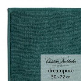 Christian Fischbacher Kúpeľňová predložka 50 x 72 cm smaragdová Dreampure, Fischbacher