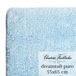 Christian Fischbacher Kúpeľňový koberček 55 x 65 cm nebesky modrý Dreamtuft Puro, Fischbacher