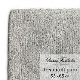 Christian Fischbacher Kúpeľňový koberček 55 x 65 cm grafitový Dreamtuft Puro, Fischbacher