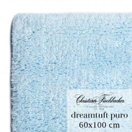 Christian Fischbacher Kúpeľňový koberček 60 x 100 cm nebesky modrý Dreamtuft Puro, Fischbacher