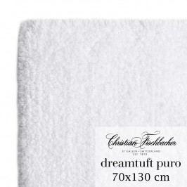 Christian Fischbacher Kúpeľňový koberček 70 x 130 cm biely Dreamtuft Puro, Fischbacher