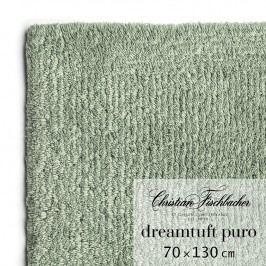 Christian Fischbacher Kúpeľňový koberček 70 x 130 cm zelenosivý Dreamtuft Puro, Fischbacher