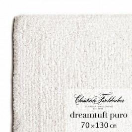 Christian Fischbacher Kúpeľňový koberček 70 x 130 cm kriedový Dreamtuft Puro, Fischbacher