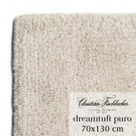 Christian Fischbacher Kúpeľňový koberček 70 x 130 cm pieskový Dreamtuft Puro, Fischbacher