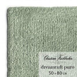 Christian Fischbacher Kúpeľňový koberček 50 x 80 cm zelenosivý Dreamtuft Puro, Fischbacher