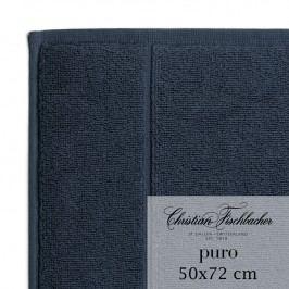 Christian Fischbacher Kúpeľňová predložka 50 x 72 cm kobaltovo modrá Puro, Fischbacher