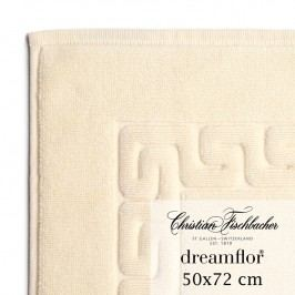 Christian Fischbacher Kúpeľňová predložka 50 x 72 cm slonová kosť Dreamflor®, Fischbacher