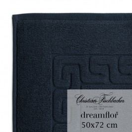 Christian Fischbacher Kúpeľňová predložka 50 x 72 cm temne modrá Dreamflor®, Fischbacher