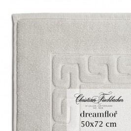 Christian Fischbacher Kúpeľňová predložka 50 x 72 cm strieborná Dreamflor®, Fischbacher