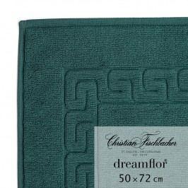 Christian Fischbacher Kúpeľňová predložka 50 x 72 cm šmaragdová Dreamflor®, Fischbacher
