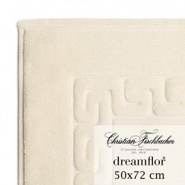 Christian Fischbacher Kúpeľňová predložka 50 x 72 cm krémová Dreamflor®, Fischbacher