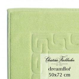 Christian Fischbacher Kúpeľňová predložka 50 x 72 cm svetlozelená Dreamflor®, Fischbacher