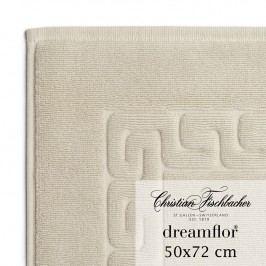 Christian Fischbacher Kúpeľňová predložka 50 x 72 cm piesková Dreamflor®, Fischbacher
