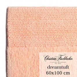 Christian Fischbacher Kúpeľňový koberček 60 x 100 cm lososový Dreamtuft, Fischbacher