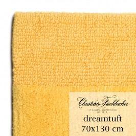 Christian Fischbacher Kúpeľňový koberček 70 x 130 cm žltý Dreamtuft, Fischbacher