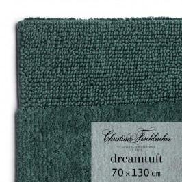 Christian Fischbacher Kúpeľňový koberček 70 x 130 cm smaragdový Dreamtuft, Fischbacher