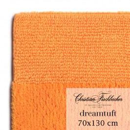 Christian Fischbacher Kúpeľňový koberček 70 x 130 cm oranžový Dreamtuft, Fischbacher