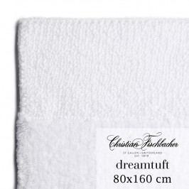 Christian Fischbacher Kúpeľňový koberček 80 x 160 cm biely Dreamtuft, Fischbacher