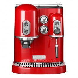 KitchenAid Pákový kávovar na espresso Artisan kráľovská červená