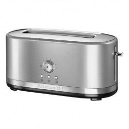 KitchenAid Hriankovač s extra dlhými otvormi 26 cm strieborná