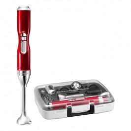 KitchenAid Bezdrôtový tyčový mixér Artisan červená metalíza