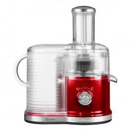 KitchenAid Odstredivý odšťavovač Artisan červená metalíza