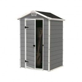 Záhradný domček Keter MANOR 4x3 sivý