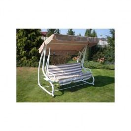 Hojdačka záhradná Rojaplast De-luxe béžová + Doprava zadarmo