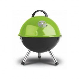 Gril záhradný na drevené uhlie Fieldmann FZG 1000G čierny/zelený