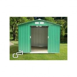 Záhradný domček G21 GAH 327 - 191 x 171 cm zelený + Doprava zadarmo