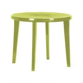 Stôl Rojaplast Lisa zelený