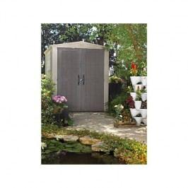 Záhradný domček Keter FACTOR 6x6 sivý/béžový + Doprava zadarmo