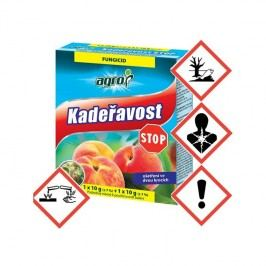 Prípravky proti chorobám a škodcom Agro Kadeřavost STOP 10 g + 10 g