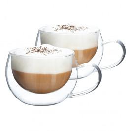 Termo pohár šálka na cappuccino, 2ks, 280ml, HOTCOOL TYP 1