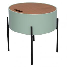 Príručný stolík, neo mint/prírodná/čierna, MOSAI