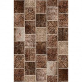 Koberec, hnedý, 80x150, ADRIEL TYP 2