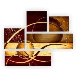 Obraz, ručne maľovaný, 130x100 cm, HT 11372