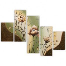 Obraz, ručne maľovaný, 100x60 cm, PN 00002R