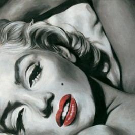 Obraz, ručne maľovaný, 80x80 cm, HT 9511
