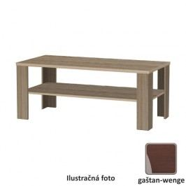 Konferenčný stolík, dlhý, gaštan - wenge, INTERSYS NEW 22