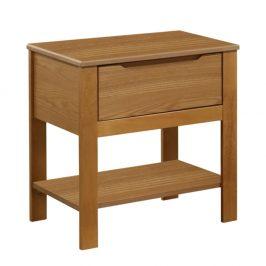 Nočný stolík, dub, KABOTO