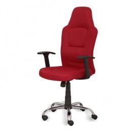 Kancelárske kreslo, červené, VAN