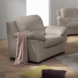 Kožená sedačka, Koža pampas hellgrau M9010, DANILO