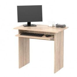 PC stôl, dub sonoma, VERNER NEW