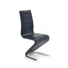 Jedálenská stolička K194 čierna / biela Halmar