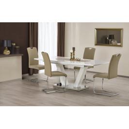 Jedálenský stôl rozkladací VISION biela Halmar