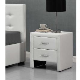 Nočný stolík CASTEL biela Tempo Kondela