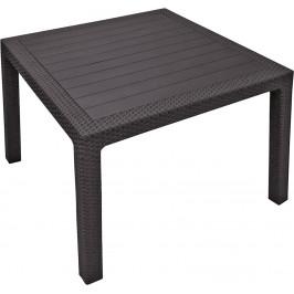 MELODY quarted stôl - hnedý Allibert