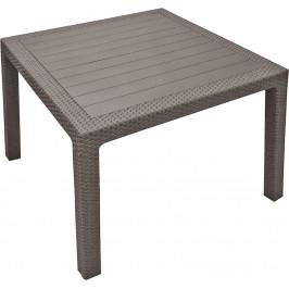 MELODY quarted stôl - cappuchino Allibert